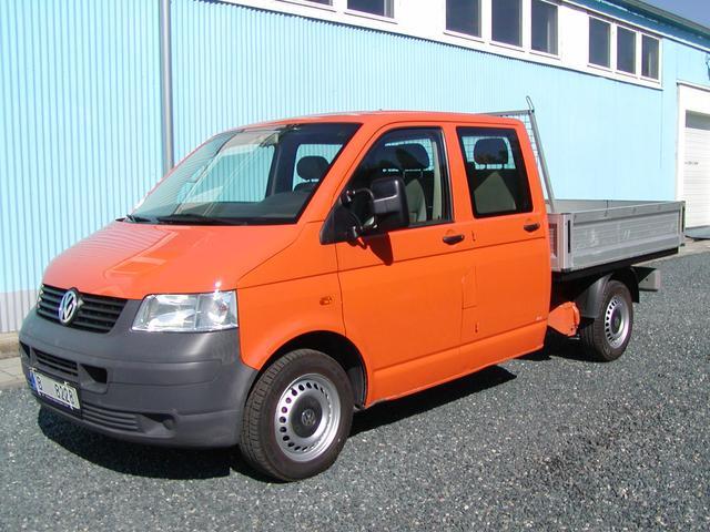 Volkswagen Transporter 1.9TDi,DOUBLECAB,VALNIK,6-míst