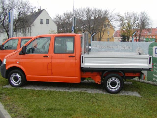 Volkswagen Transporter 2.5TDi,4X4,DOUBLECAB,VALNÍk !!