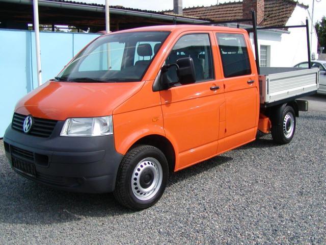 Volkswagen Transporter 1.9 TDi,Doublecab.valník,výb!!
