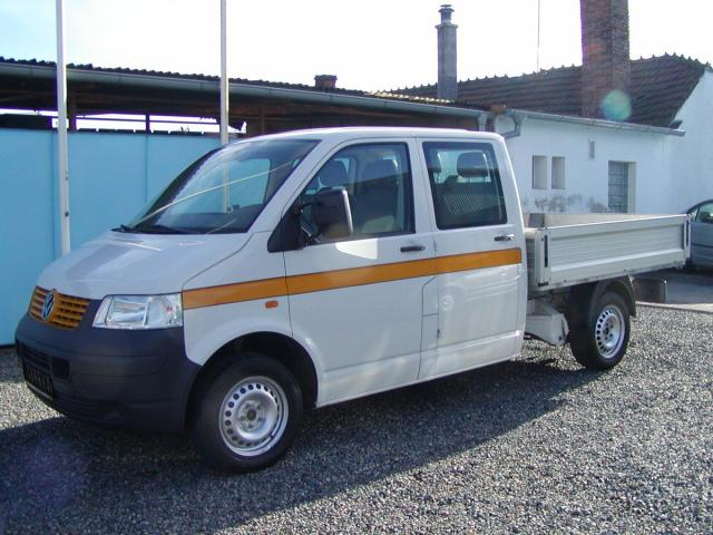 Volkswagen Transporter 1.9TDi,DOKA,VALNÍK,NOVÁ KORBA!