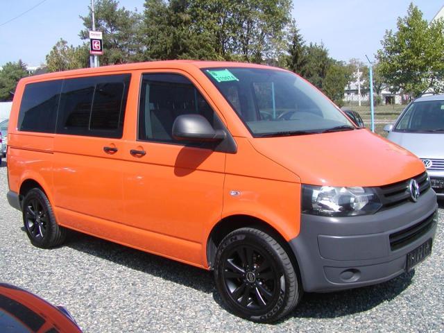 Volkswagen Transporter 2.0TDi,103kW,9-míst,naj.148tis